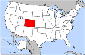 Colorado is located in the central western Uni...