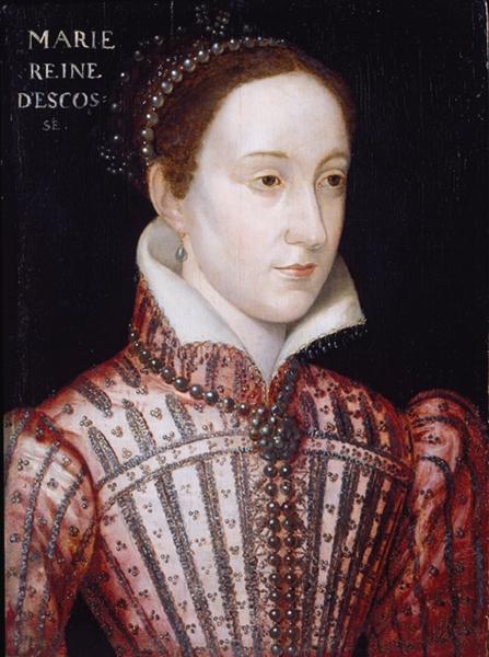 Mary Stuart, anonymous artist after François Clouet