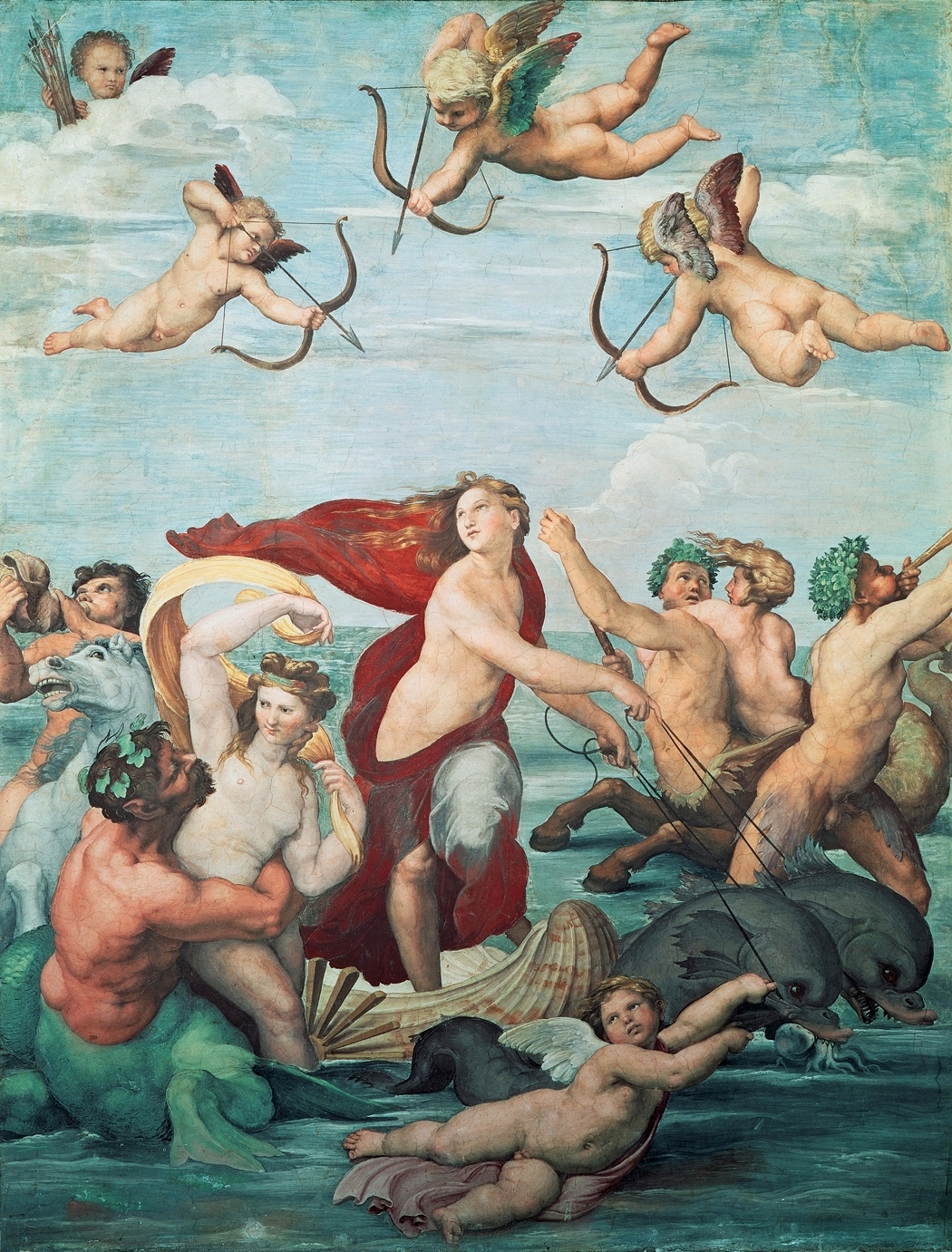 Galatea, Villa Farnesina, 295 × 224 cm, origin...