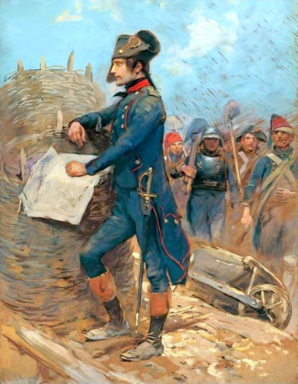 Наполеон в Тулоне