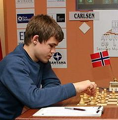 English: Magnus Øen Carlsen Linares 2007