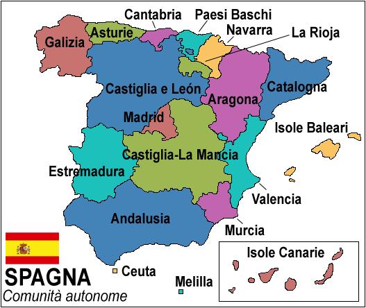 File:Comunità autonome della Spagna.png