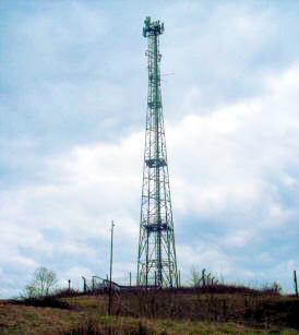 English: Radio Antenna at Kelvedon Hatch ( M K...