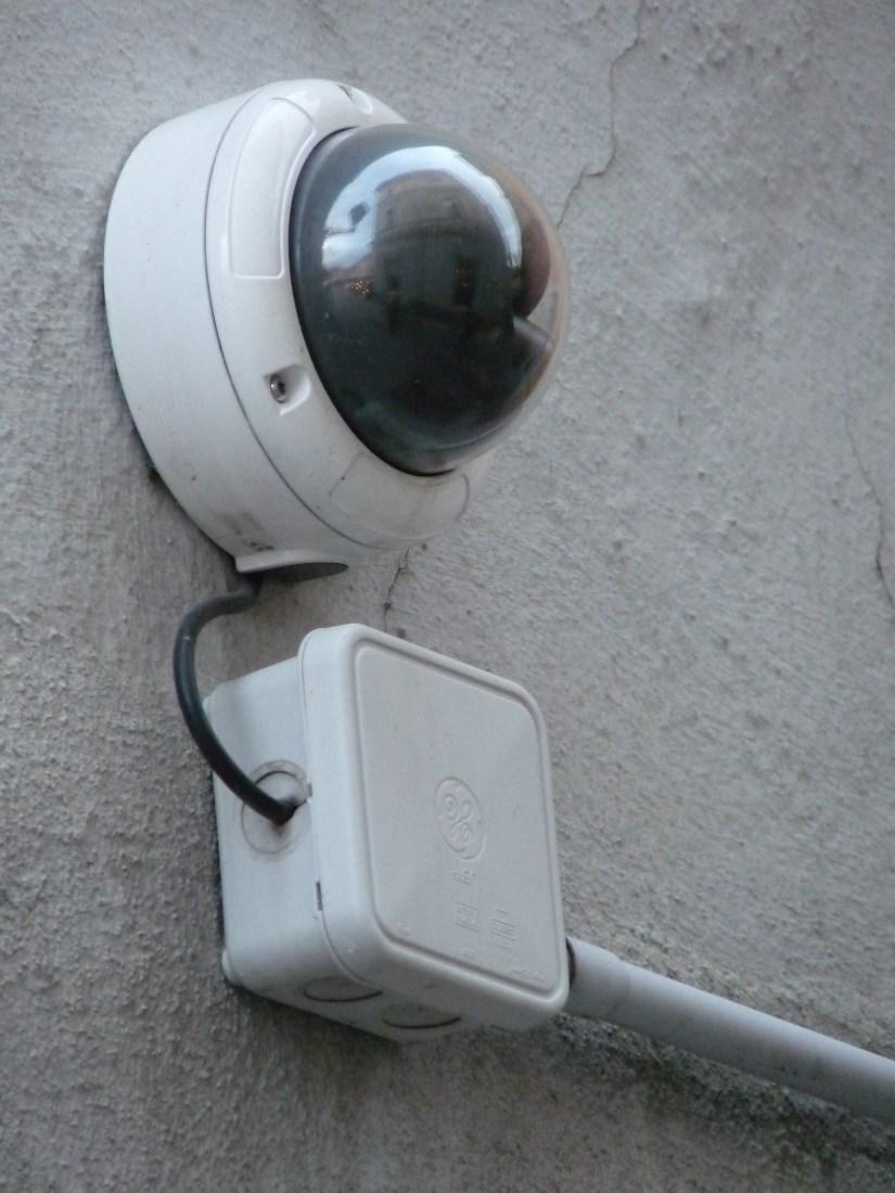 Exemple de caméra de surveillance