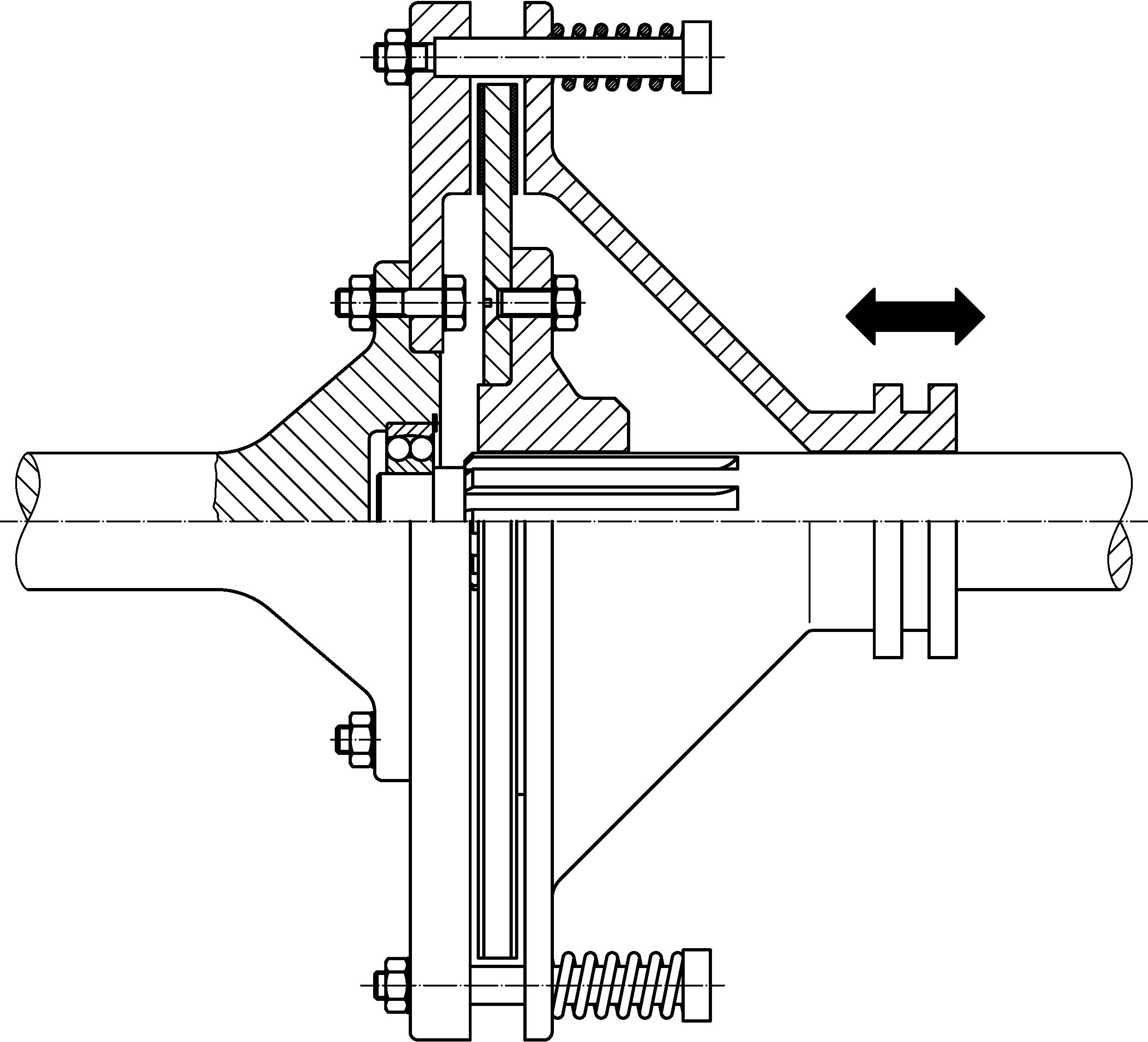 File Single Disc Clutch