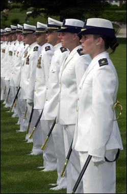 United States Coast Guard Academy - graduation...