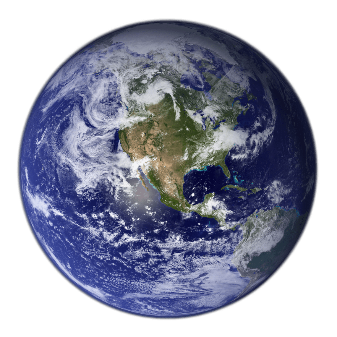 Earth Western Hemisphere transparent background Free Iphone Live Wallpaper