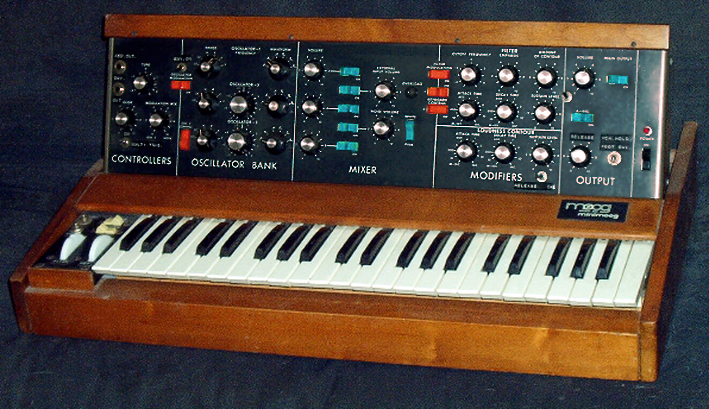 original Minimoog - photo: Krash
