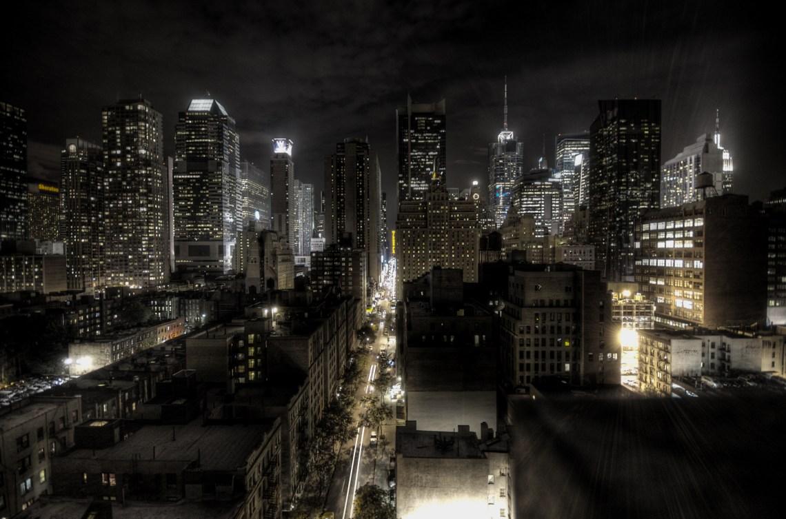 New York City at night HDR Fashion Souls