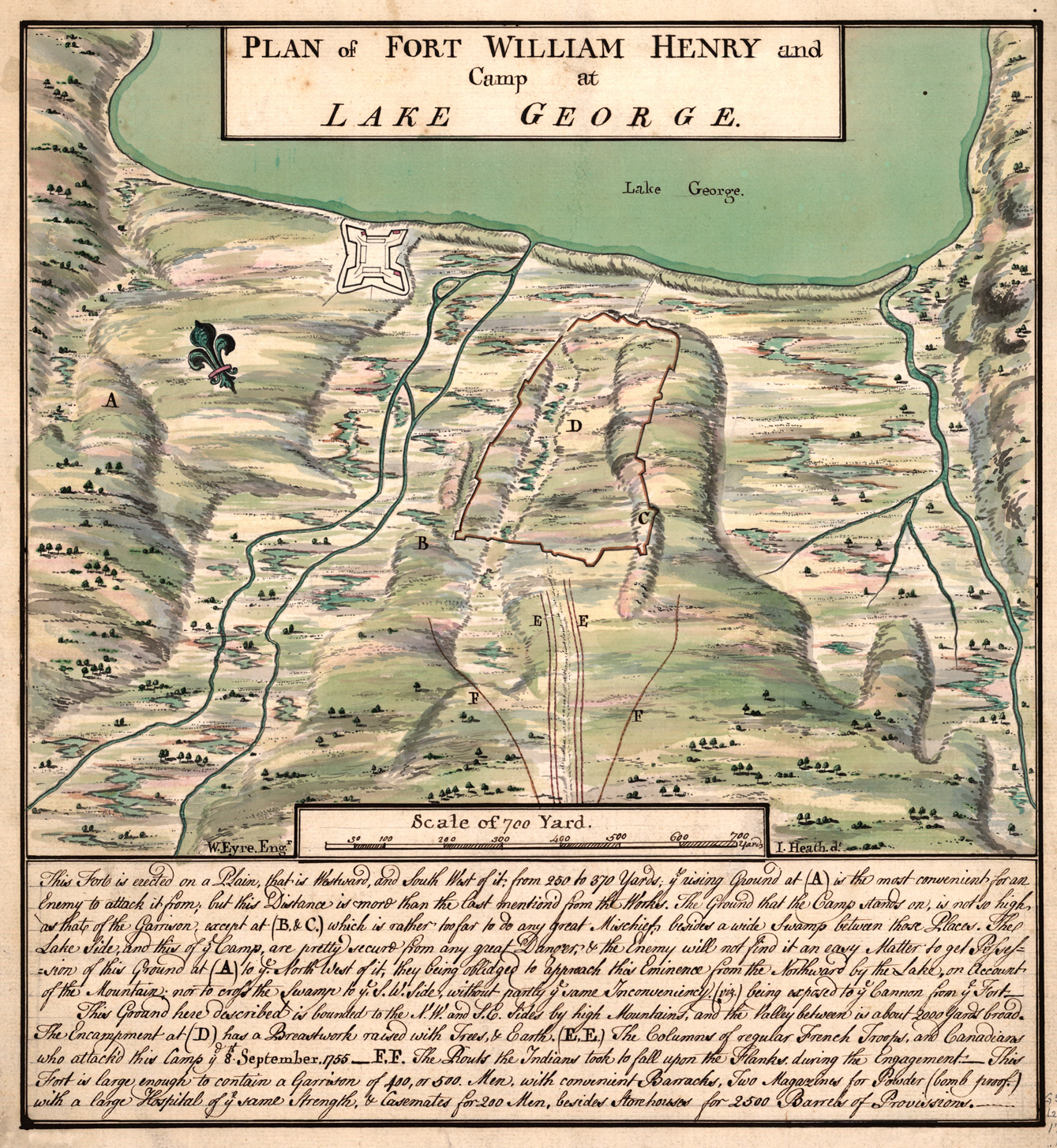 Siege Of Fort William Henry