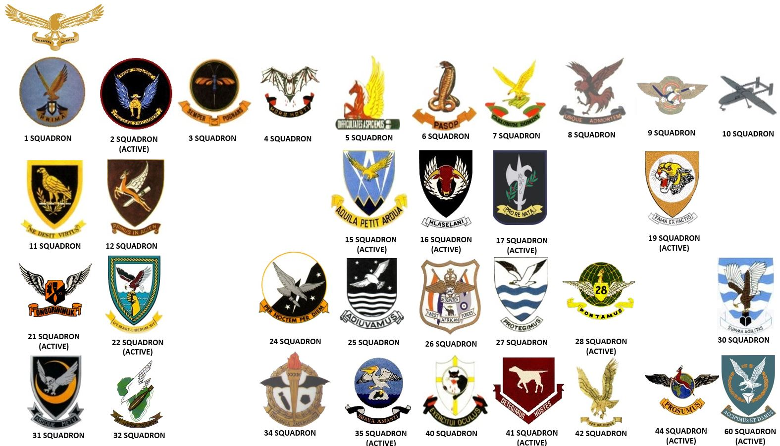 File South African Air Force Flying Squadrons Update