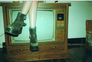 Don't sit on your TV
