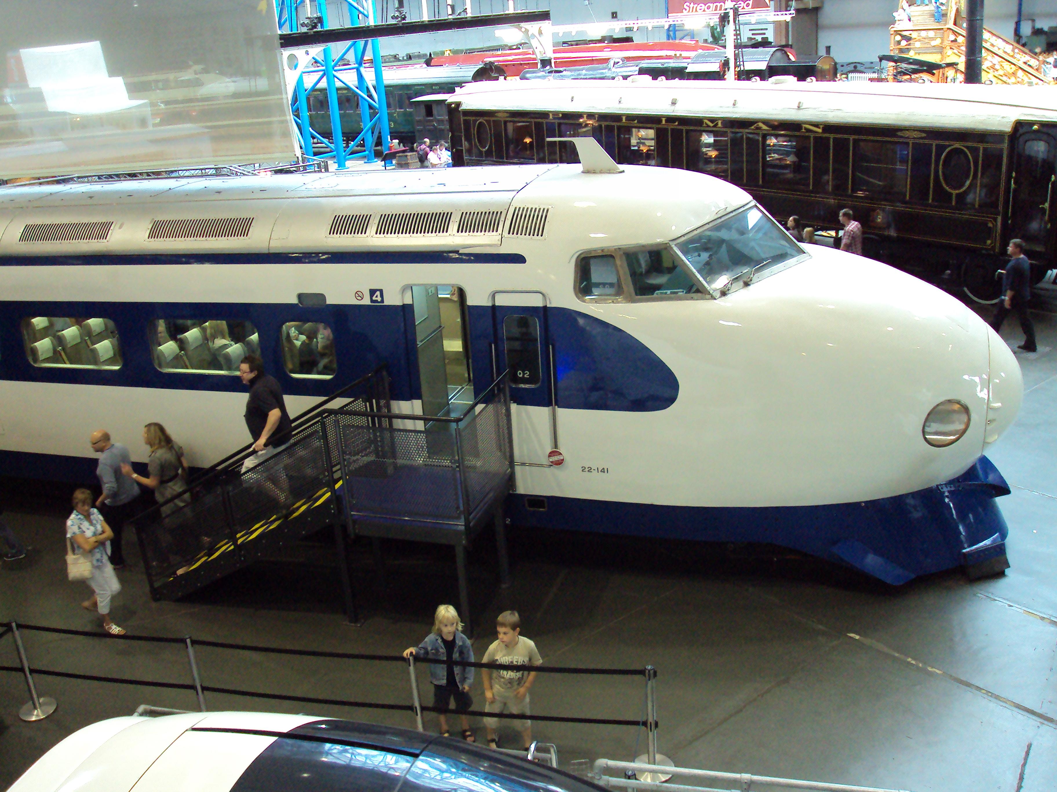 File Japanese Bullet Train Shinkansen 0 Series At Nrm
