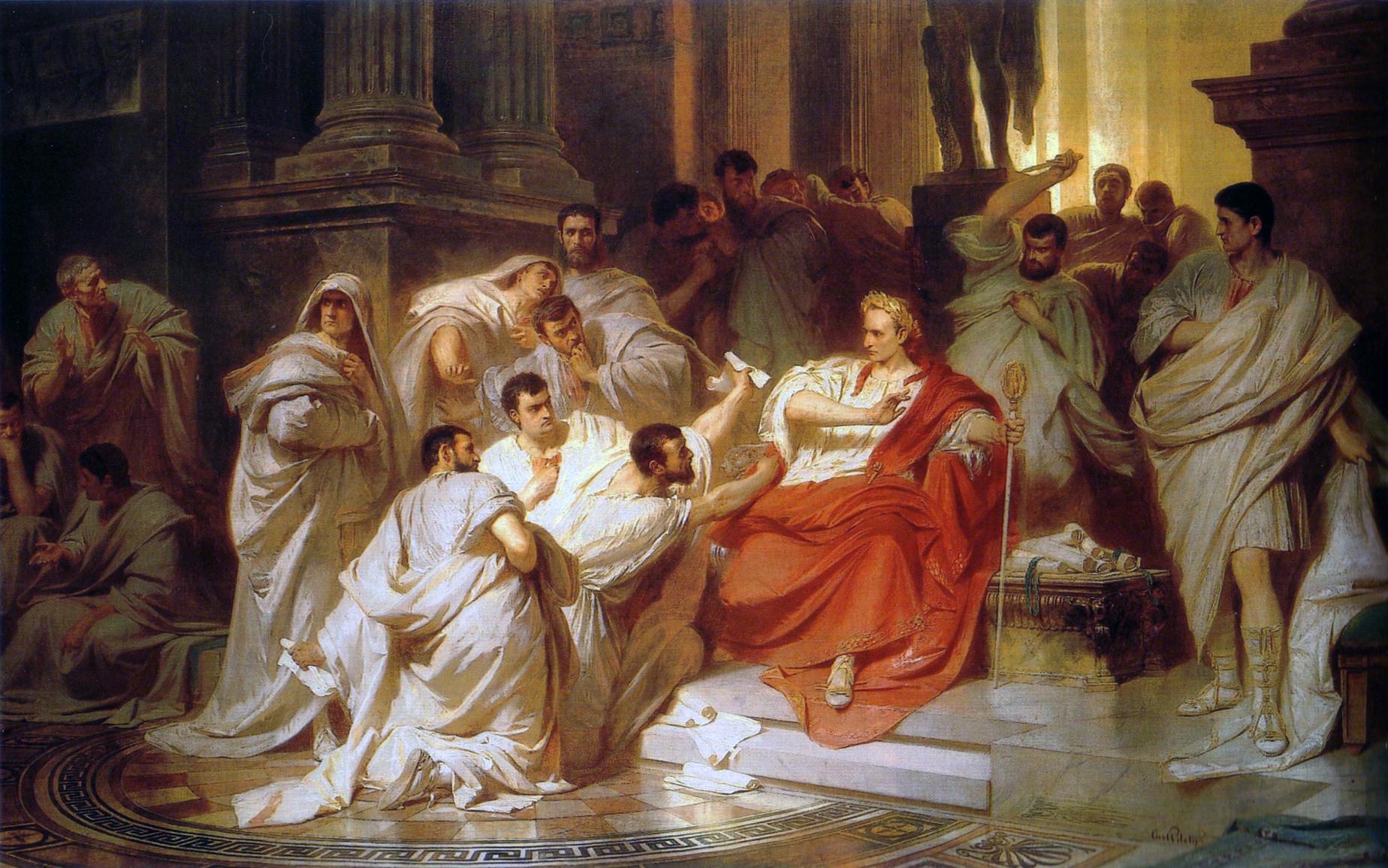 The Senators Encircle Ceaser