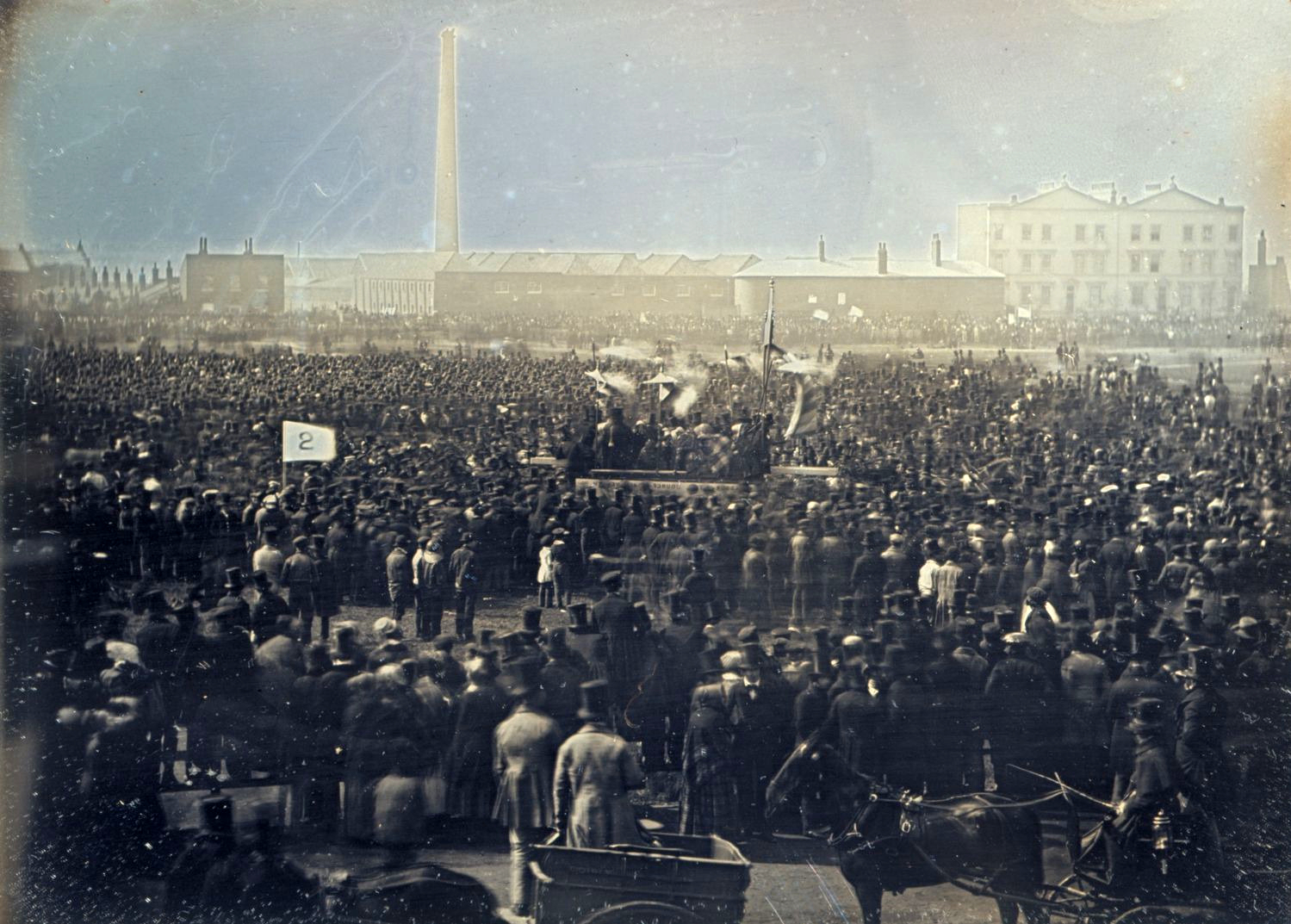Springtime of the Peoples: the Chartist meeting on Kennington Common, 1848