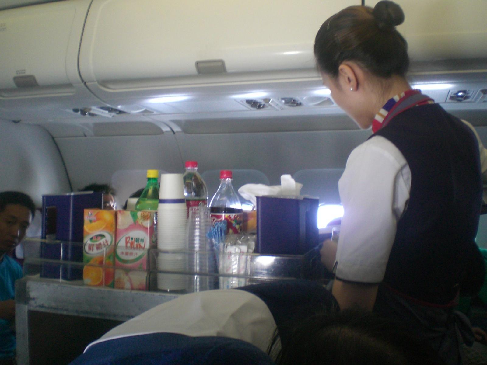 中國東方航空飛機艙