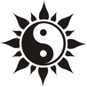 English: Yin yang picture Español: Yin yang