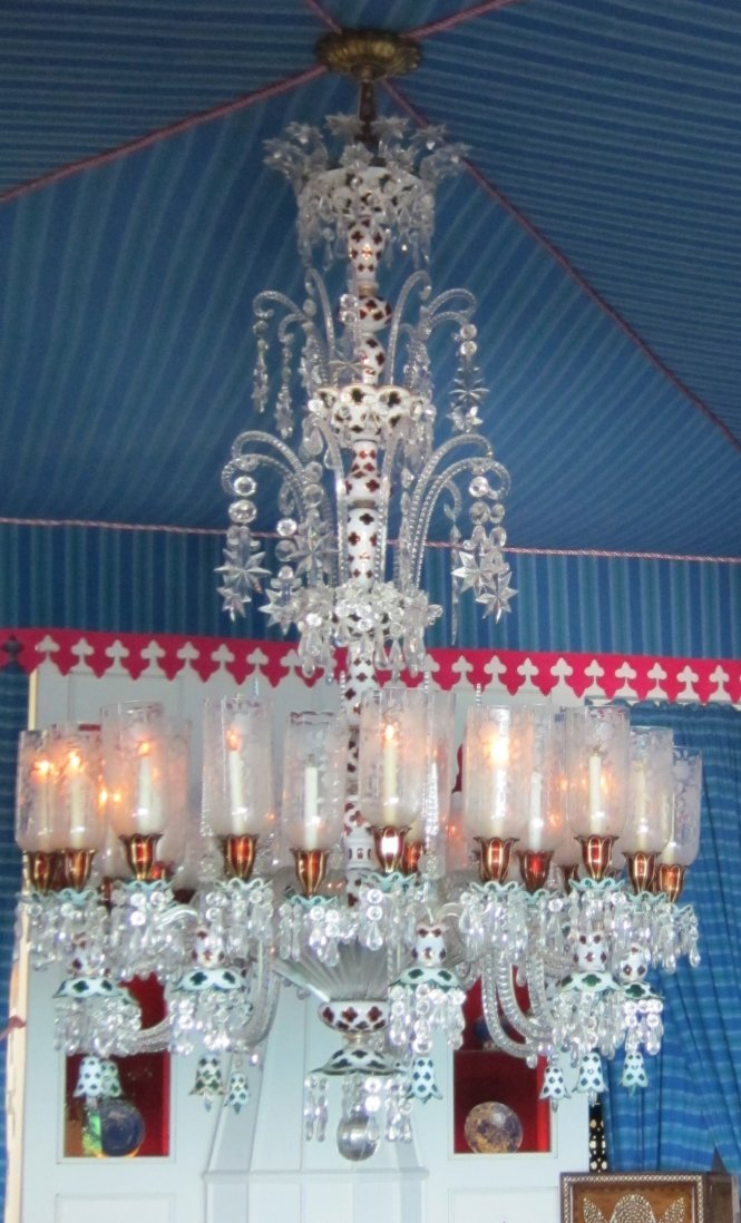 File Baccarat Glass Chandelier C 1840 Made For The Indian Market