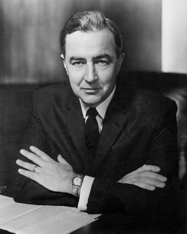 Senator Eugene McCarthy of Minnesota