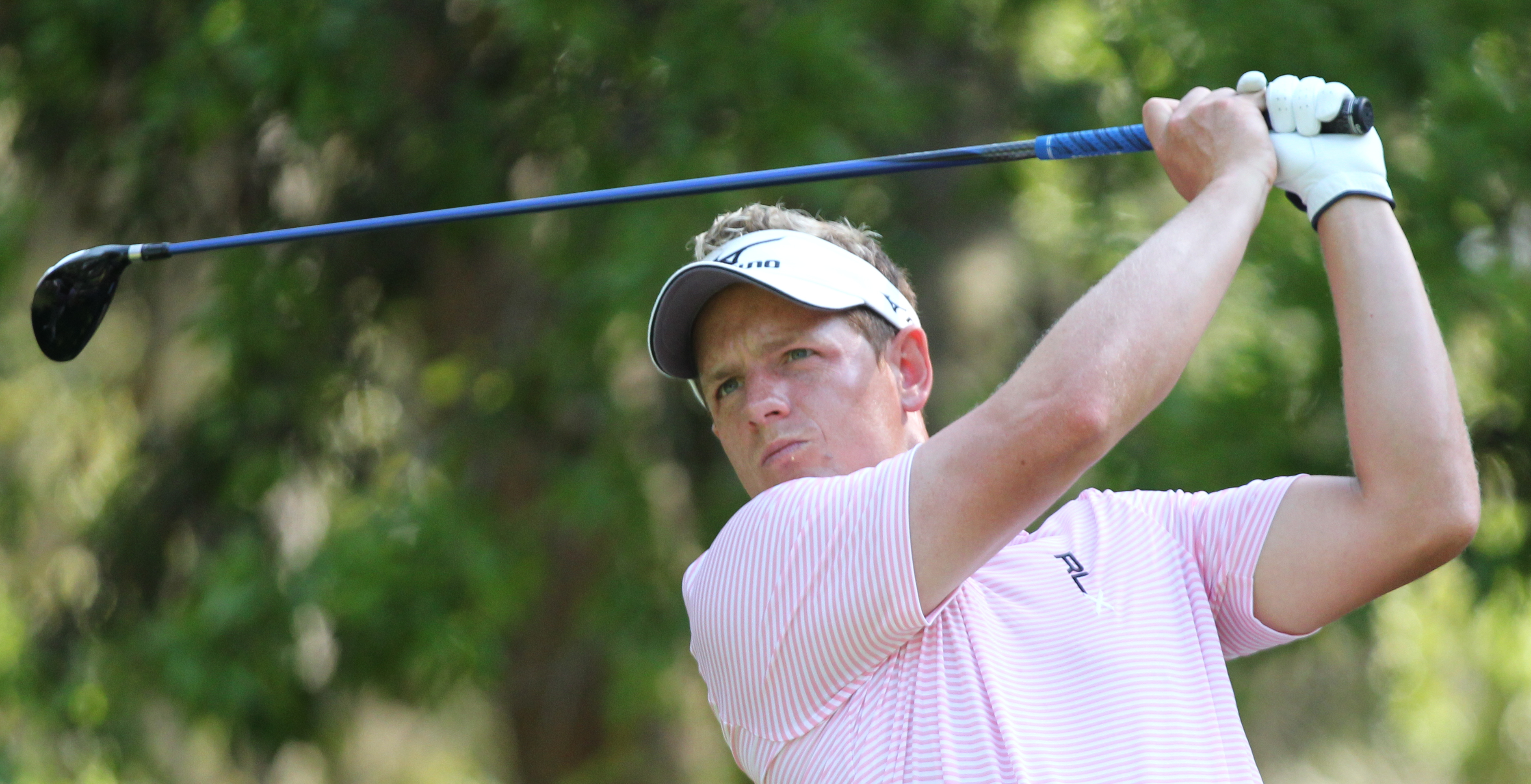 English: Luke Donald during The Heritage Pro-A...