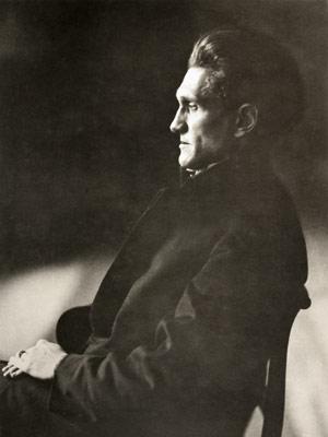 Poet Stefan George (1910)