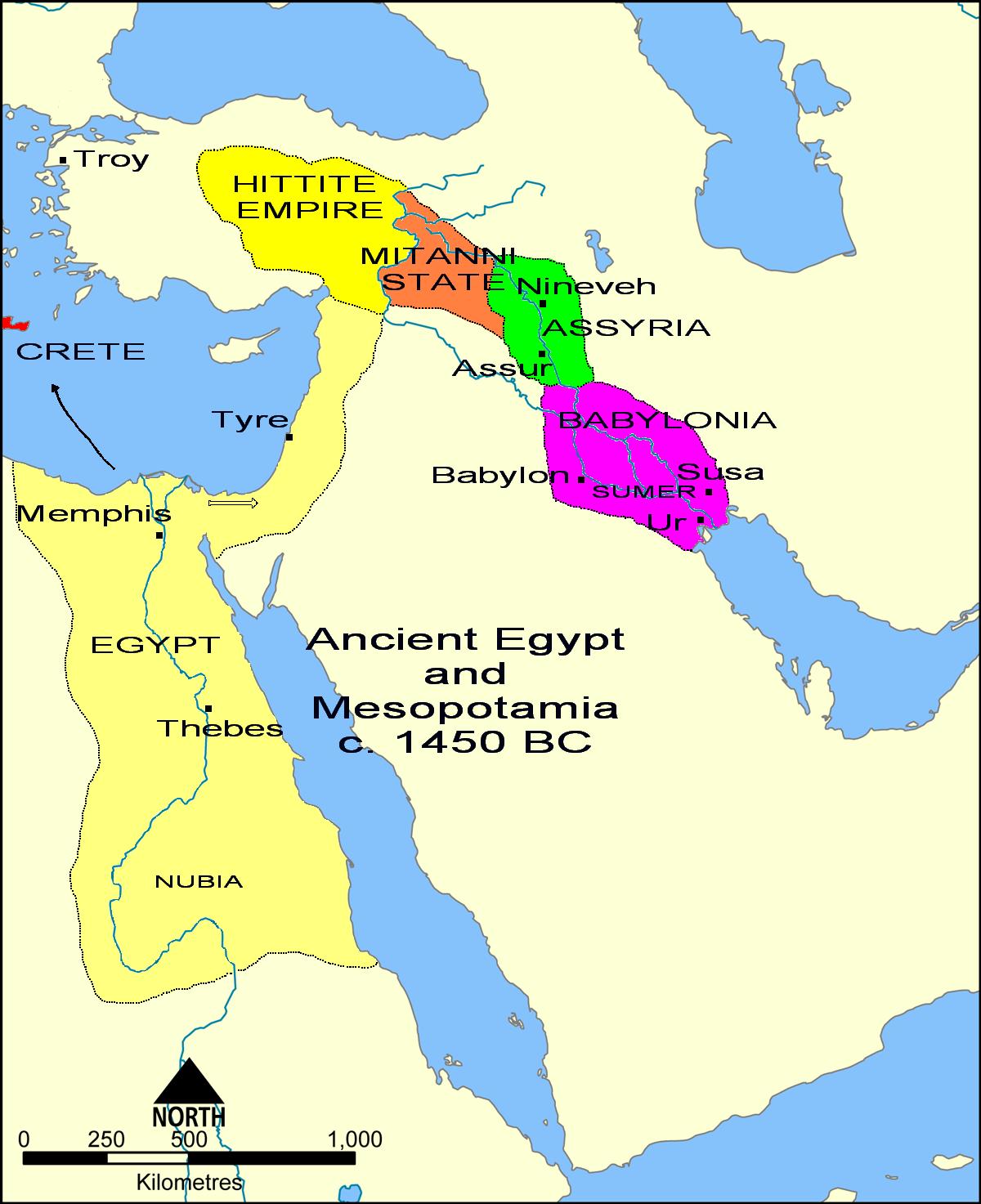 File Ancient Egypt And Mesopotamia C Bc