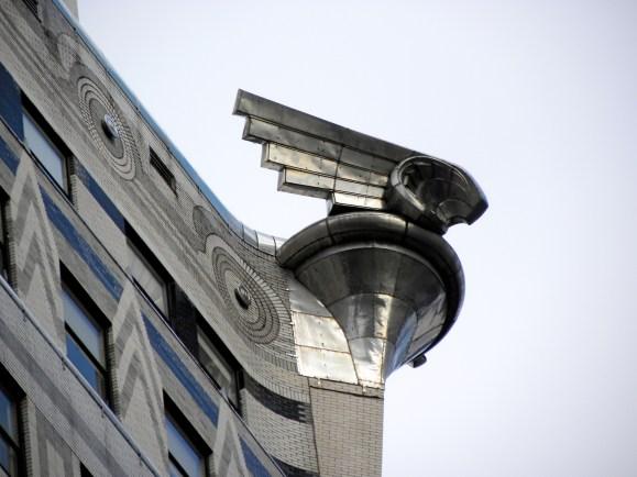 Chrysler Kühlerfigur am Chrysler Building