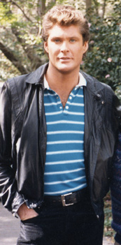 David Hasselhoff in 1986