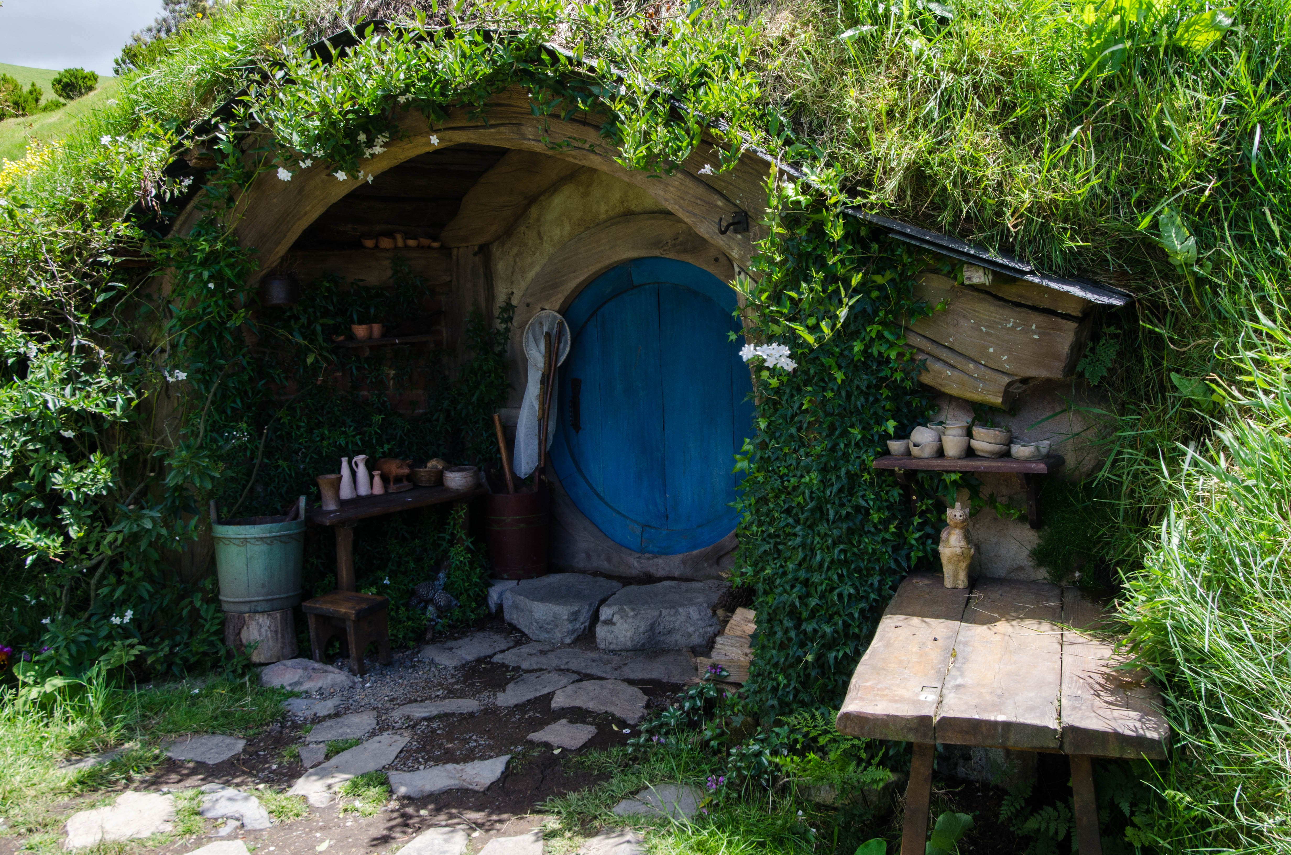 Going down the hobbit hole is a much smoother experience. (Photo by Jeff Hitchcock. CC BY 2.0)