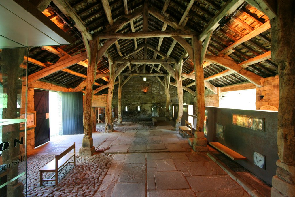 FileAisled Barn Interior Wycoller Uk