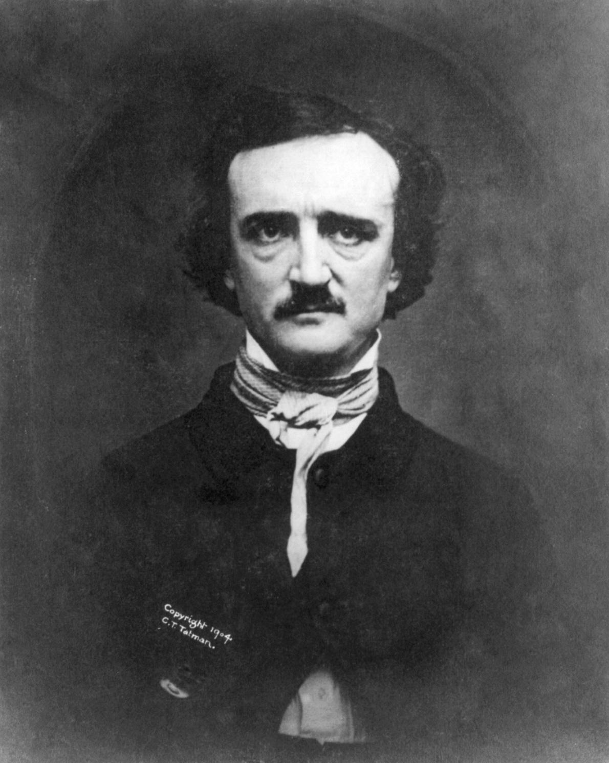 Edgar Allan Poe Daguerrotype 1848