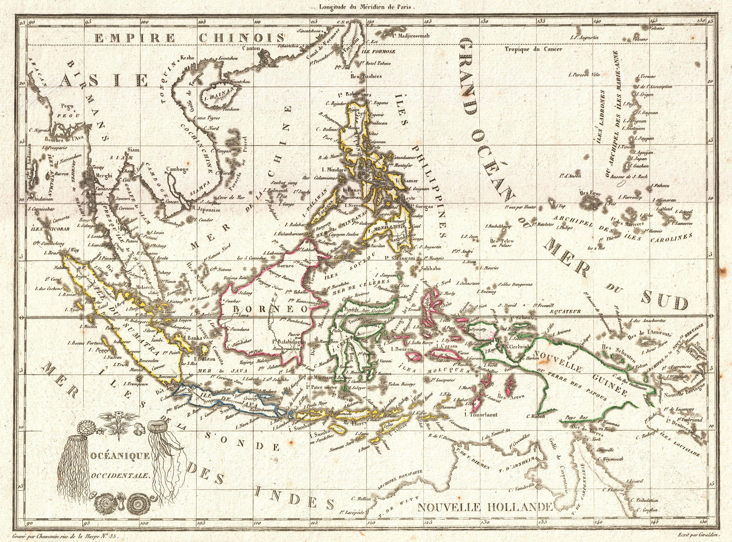 X Tr M H Ng Old Maps Of Southeast Asia