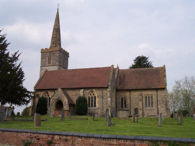 Chaceley Church. St John the Baptist