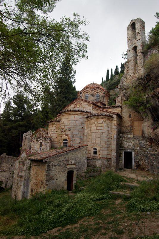 Peribleptos Monastery Mystras Wikipedia