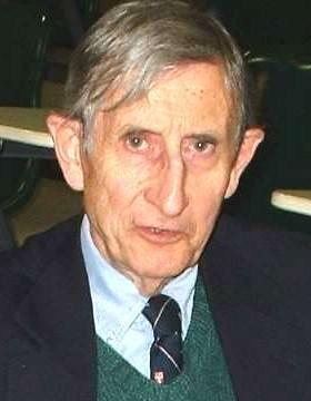 Freeman Dyson at Harvard (photo by Lumidek)