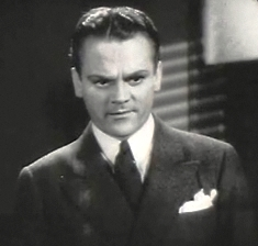 screenshot of James Cagney from the film G Men