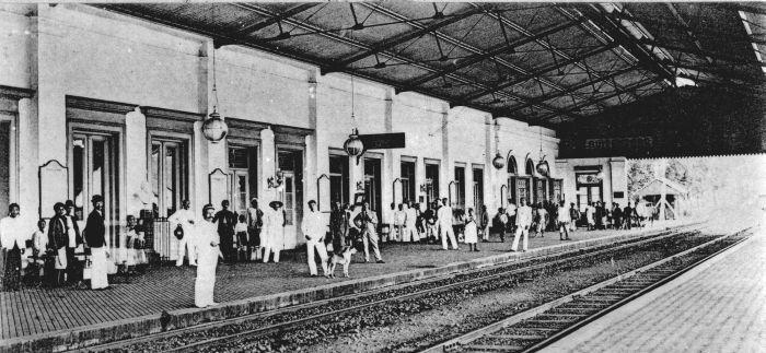 Peron Stasiun Bogor 1904