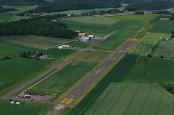 Jarlsberg flyplass.
