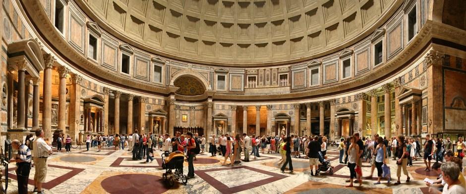 10 cúpulas imperdíveis para visitar na Itália: Panteão de Roma