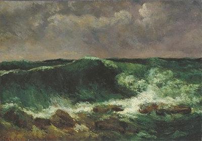 Gustave Courbet, Die Welle (Städelmuseum, Frankfurt)