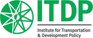 English: Stacked ITDP Logo