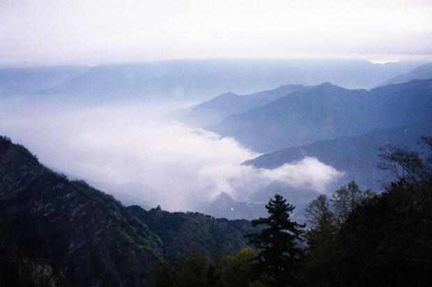view from alishan taiwan