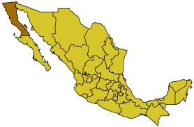 Baja California in Mexico