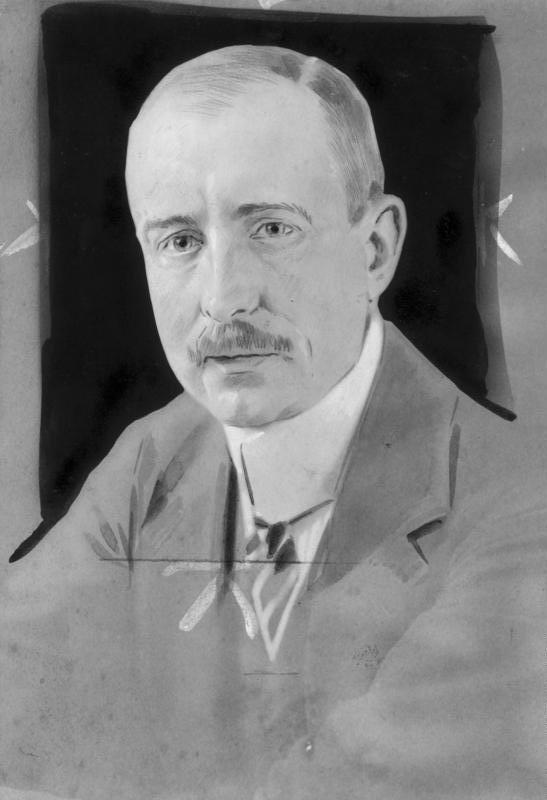 Graf Wilhelm von Mirbach-Harff (1871-1918, † in Moskau)