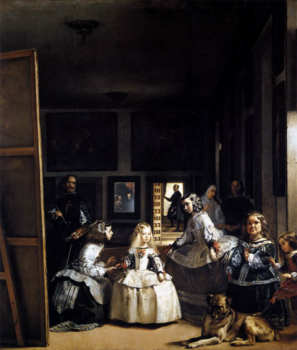 Diego Velázquez - Las Meninas or The Family of Philip IV - WGA24447
