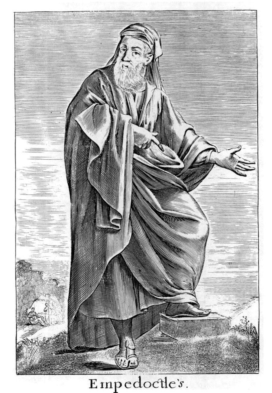 Empedocles, 17th-century engraving.