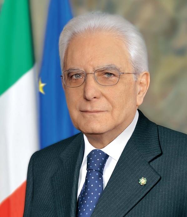Ritratto ufficiale di Sergio Mattarella
