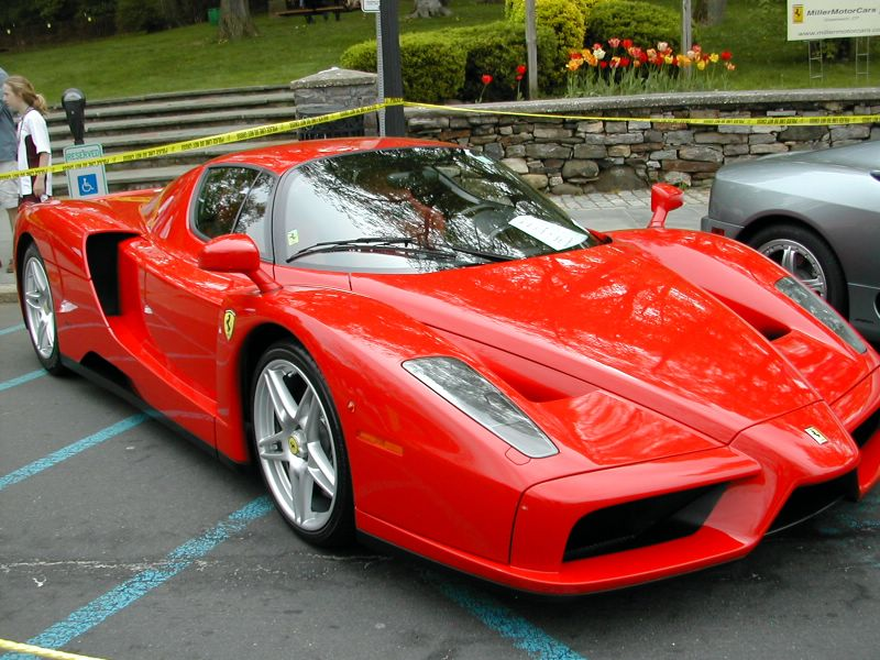 Enzo Ferrari car