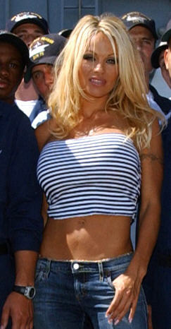 Pamela Anderson was one of the few actors to a...
