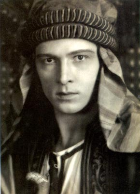 "English: Rudolph Valentino in ""The Sheik&..."